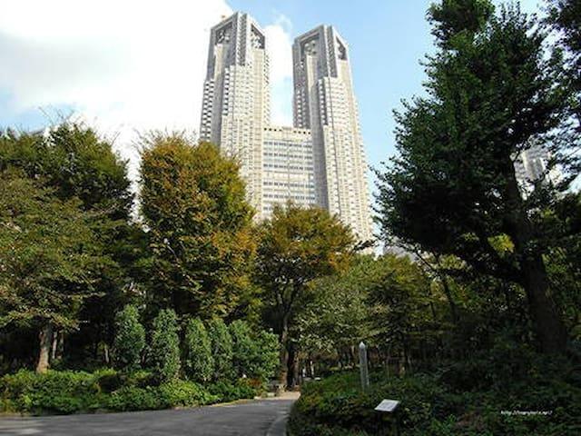 Location Shinjuku+Mobile Free wifi - Shinjuku-ku - Apartament