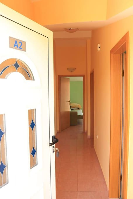 Apartment 2 (A2) entrance