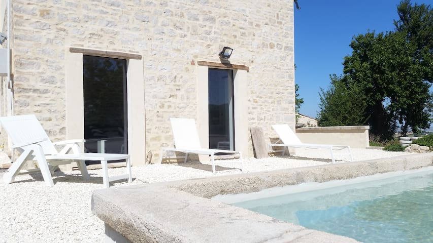 Casa CerKa Designer Stone Farmhouse with Pool