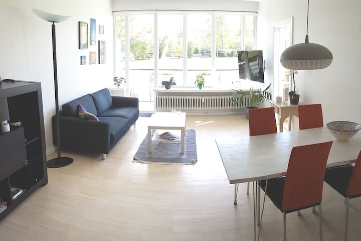 Lyngby Home right in the center of the city