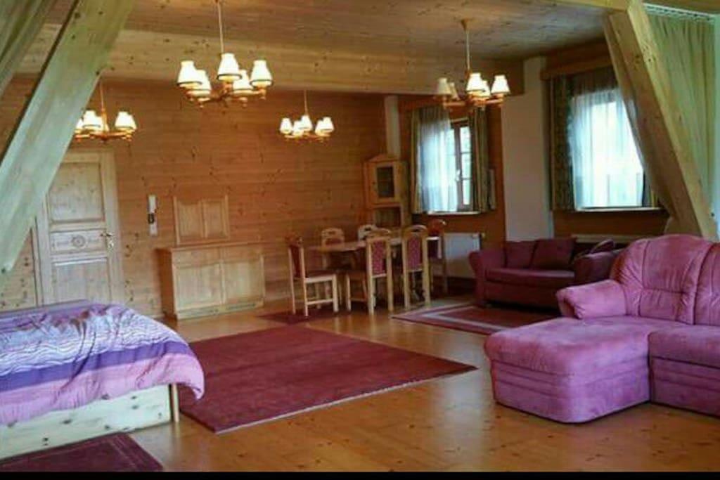 Großer heller Wohnraum!