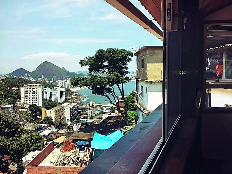 Coverage Ipanema view / Cobertura praia de Ipanema