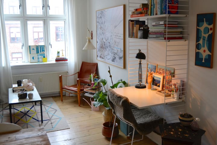 Scandinavian Looking Apartment at Nørrebro