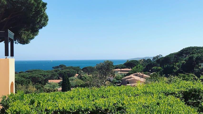 Joli appartement vue mer à 5 minutes de la plage - Sainte-Maxime - Apartamento
