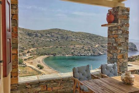 Traditional cute villa at Spathi