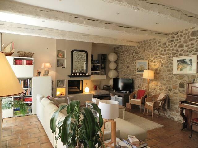 Grande maison familiale au coeur d'un village - Cazouls-lès-Béziers - บ้าน