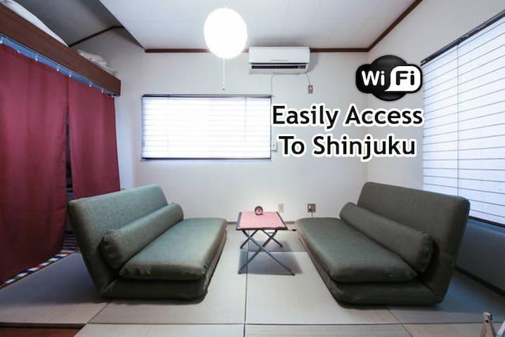 ☆Easily Access to Shinjuku w/t portable Wi-Fi☆