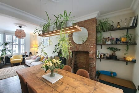 Beautifully converted Edwardian house with garden