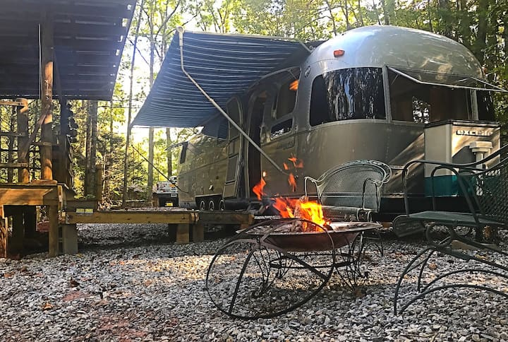 Relax, Breathe, Dream in an Airstream: Boho Vibe