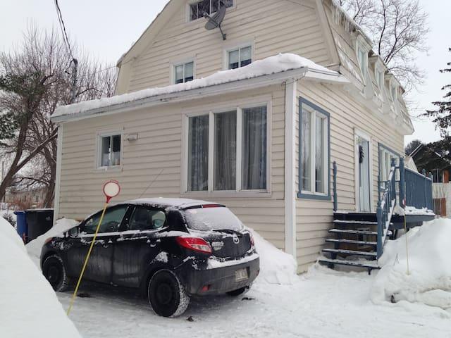 Maison ancestrale entre Montréal et Trois-Rivière - Lanoraie - Casa