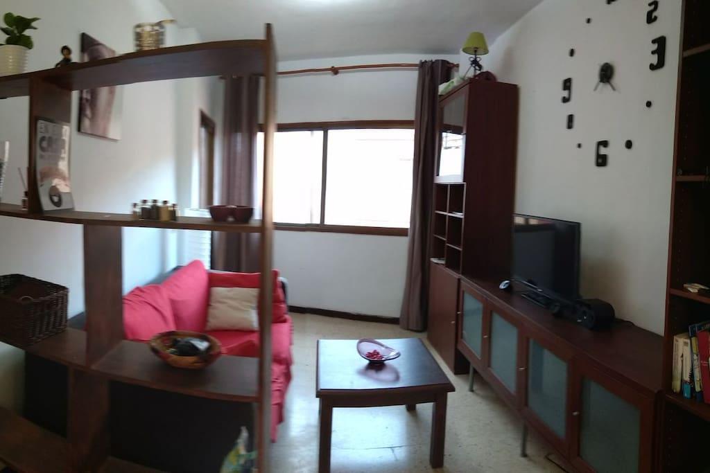 The relaxing livingroom