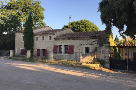 Single room in a mas provençal next to Montpellier