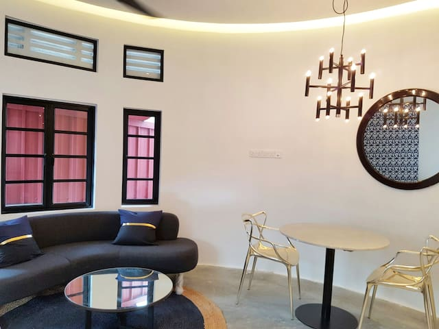 NI - Modern Chic Art Deco 1BRM Apt in Town - Singapour - Appartement