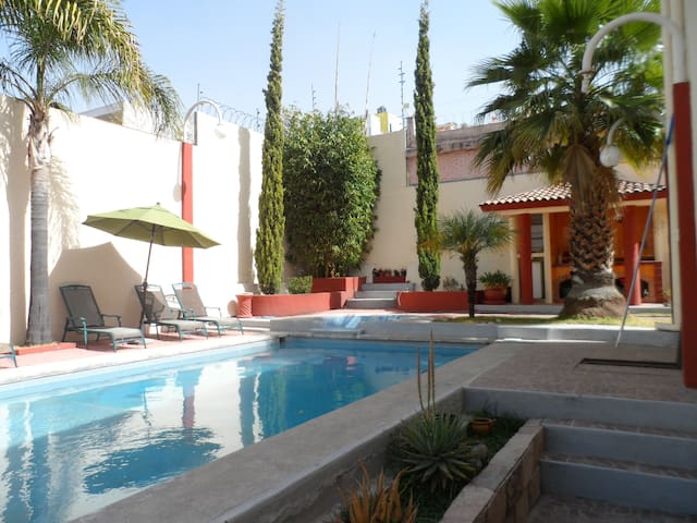 Luxury house with exterior pool for rent - Heroica Puebla de Zaragoza - Dům