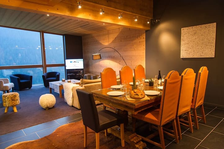 "Mod""ern chalet in petit chatel - CHATEL - House"