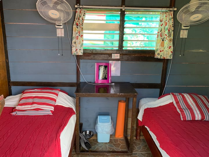 Judy House Negril  - Guava - 2 bed Private Dorm