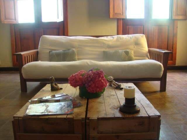 Las hortensias, natural, relax, calidez, confort.