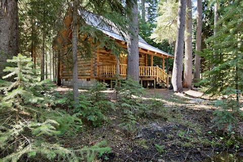 Log Cabin on Tumalo Creek