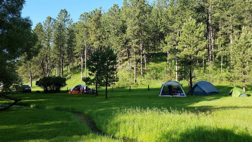 Plenty Star Ranch - Tent Site for 1 or 2 - No 3