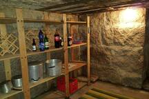 Butlery. Entry through pantry.
