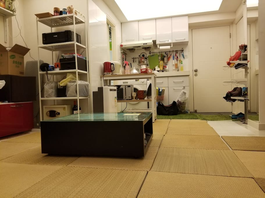 tatami living room from your room side(Still deco)