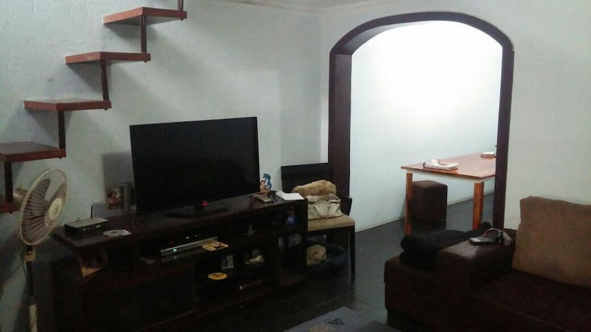Casa aconchegante e confortável - เซาเปาโล - บ้าน