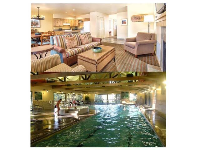 Running Y Resort  3bed/2bath ~Pool~Golf Course
