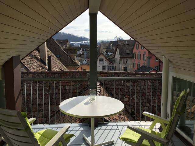 In the center of old town - Schaffhausen - Apartamento