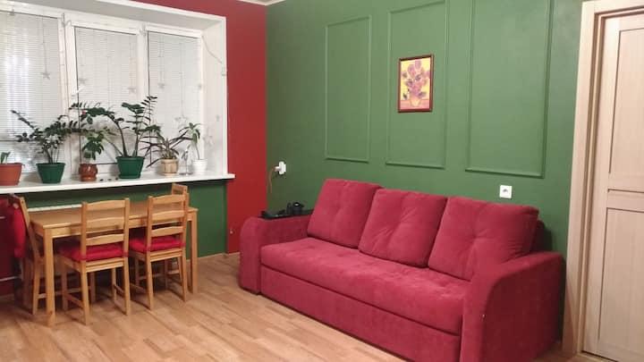 2-х комнатная квартира в центре, на Гоголя