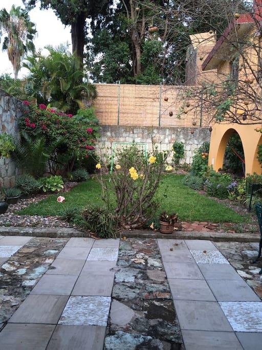 Garden common area