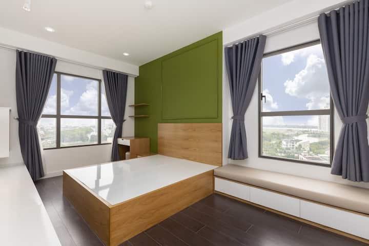 Nice bedroom. Nice Service