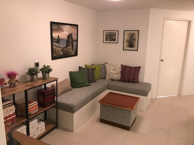 Cosy and lovely 2 bedroom apartment in Reykjavik.