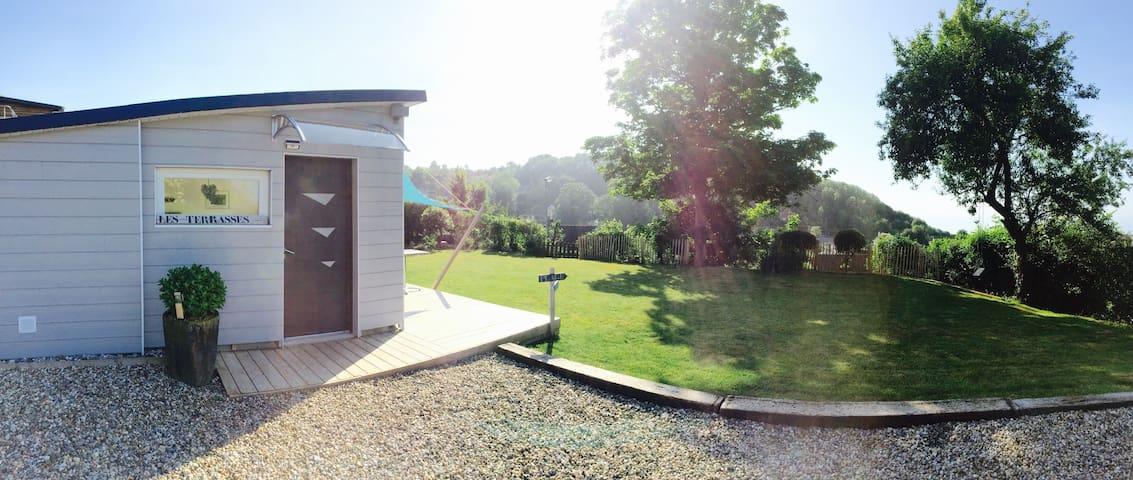 Magnifique maison VUE MER! Gîte les Terrasses