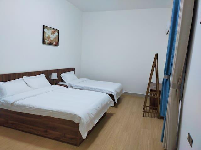 温馨双床房,1.5米,1.2米