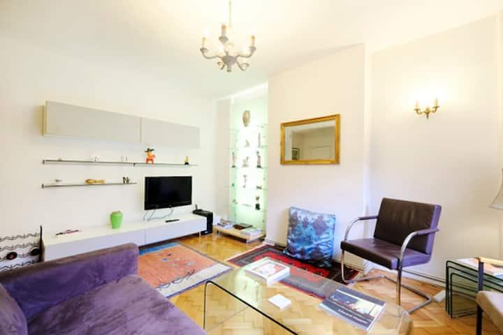 2-bedroom flat with garden near Regent's Park