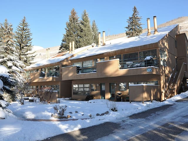 EastVail Condo, 1BR1BA, Hot Tub, Fireplace, Market - Vail