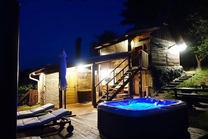 Kuća za odmor Podgaj s jacuzzijem i saunom