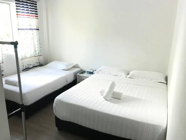 懒洋洋·小舍/XXL Homestay, ROOM 08 (三人房,适合两大一小)+独立浴室