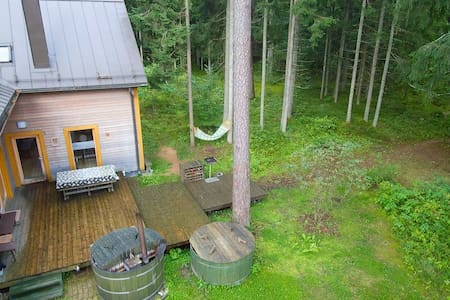 Forest Cabin 35 km from Riga Center