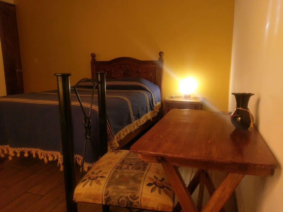 Nice and cozy room.