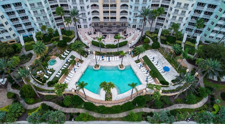 Hammock Beach Golf Resort and Spa - 2 BR 478 Intracoastal View Condo in the Yacht Harbor
