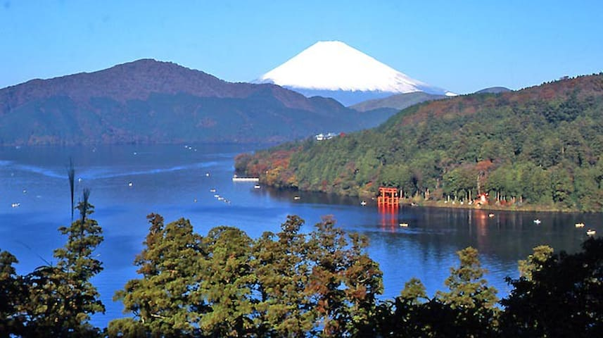 Enjoy Hakone with Nature & Hot spring ...GORA RM - Ashigarashimo-gun, Hakone-machi, ohiradai - Hus