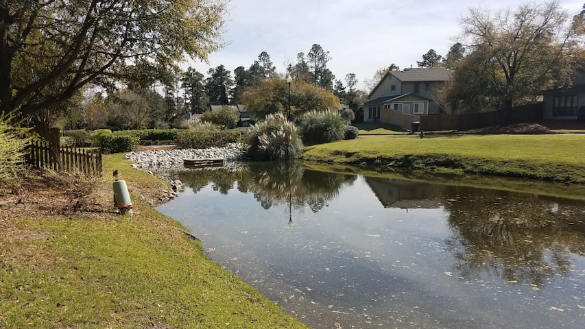 Pond view Townhouse for Masters