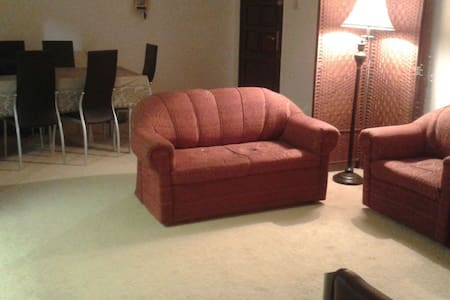 Beautiful Private Room with Lounge - Abu Dhabi - Lakás