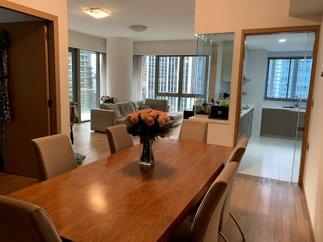 Private rooms in a luxury condo in heart of CBD