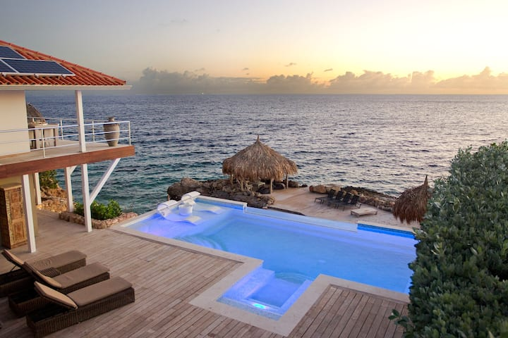 Villa Private Beach Beachvillas Curacao