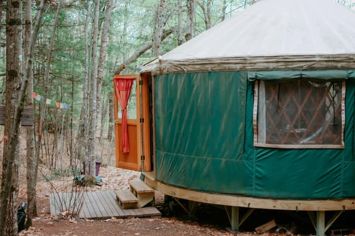 Staycation for 4 in a Yurt