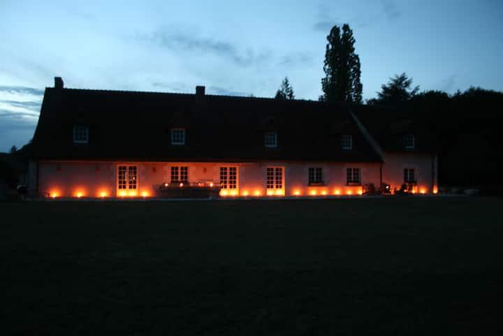 Maison 16 pers, piscine, Val de Loire, Zoo silence