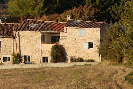 Spacious village house in rural Haut Var, Provence - Rians - Hus