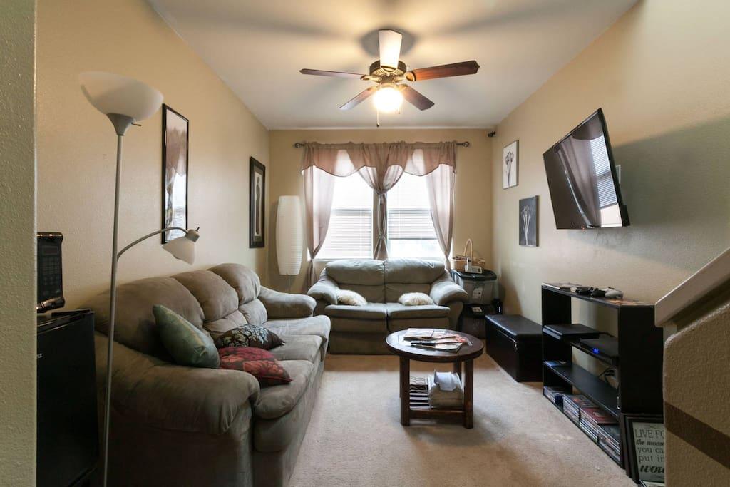 2nd Floor Living Room & Communal Area.